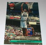 1992-93 Ultra San Antonio Spurs Basketball Card #201 David Robinson